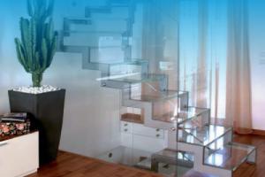 Портфолио: стеклянные лестницы